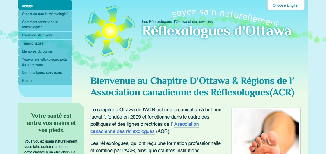 Ottawa Reflexologists home page